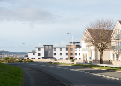 The View Development Location in Colwyn Bay