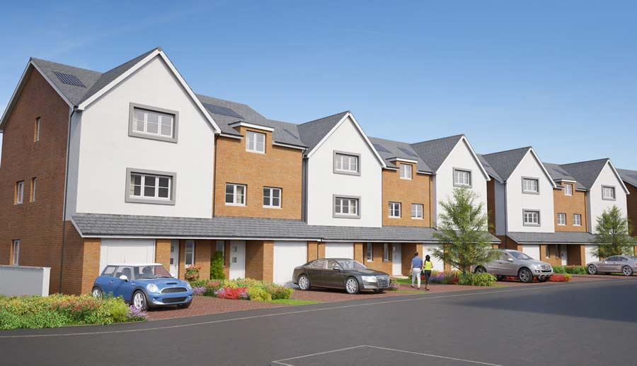 the view townhouses colwyn bay
