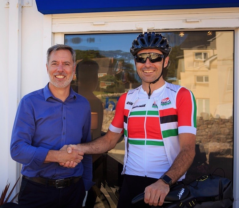 Blue Bay Homes Sponsor Matt Ryan's Race Across Europe