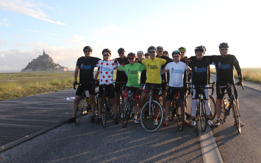 Gary Evans: Riding The Grand Depart for Prostate Cancer