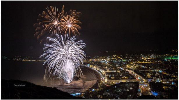 Bonfire Nights Firework Displays Happening in Colwyn Bay and Llandudno