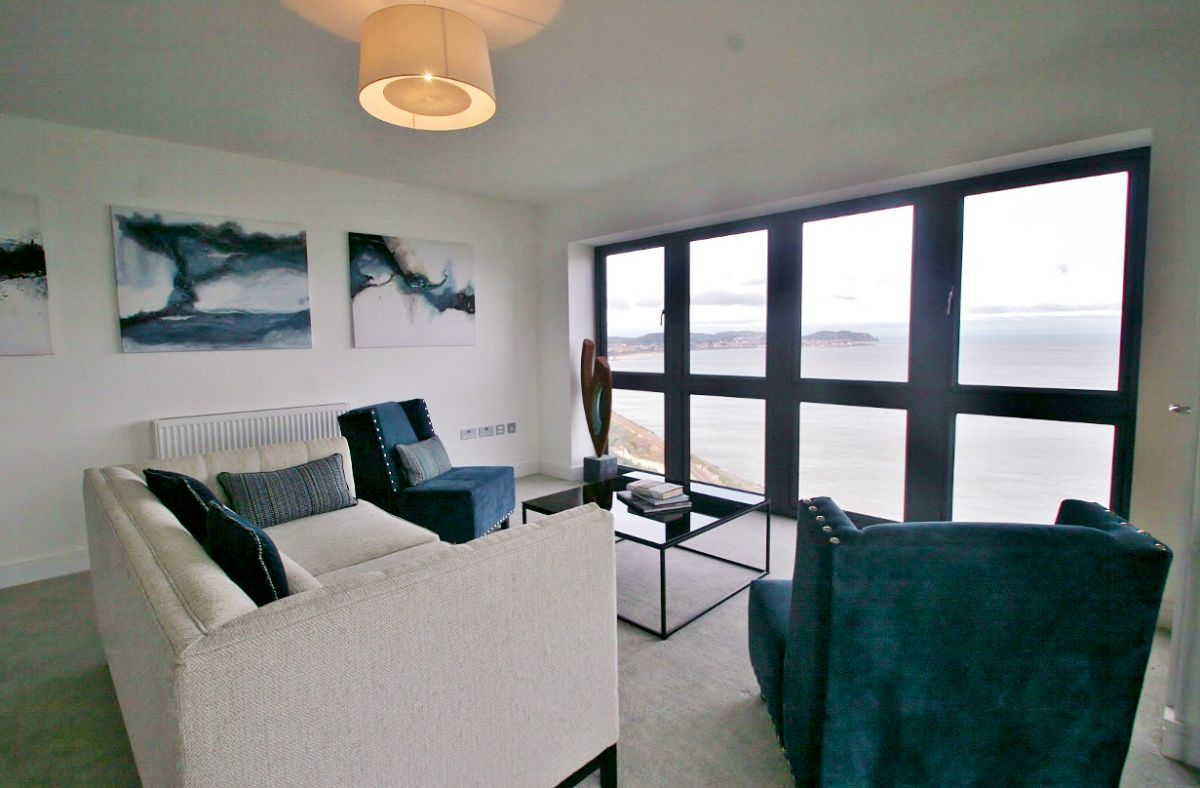 sea view apartment north Wales