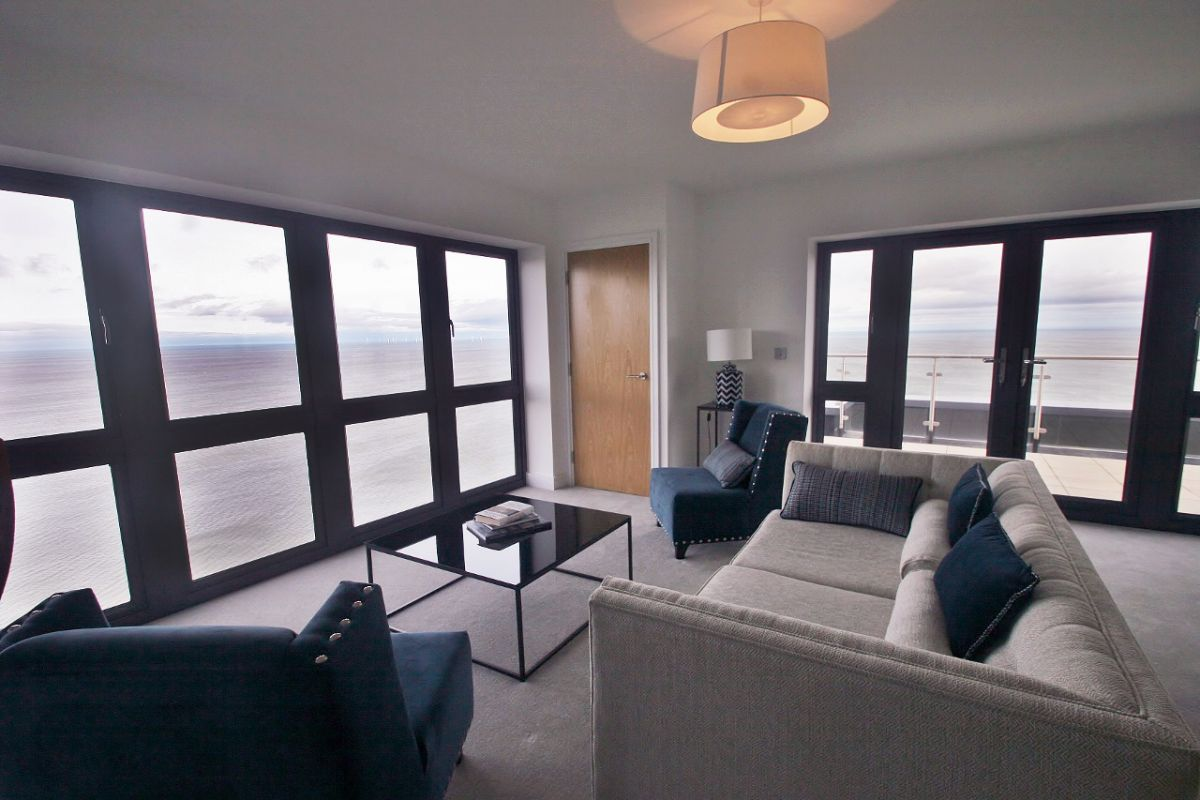 coastal apartment north Wales